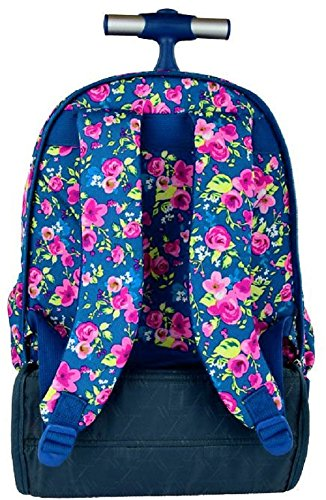 443ef99a96 St.Right Super Grande Zaino Trolley Scuola Media, Elementare Flowers Two  per Ragazza FEMMINA: Amazon.it: Valigeria
