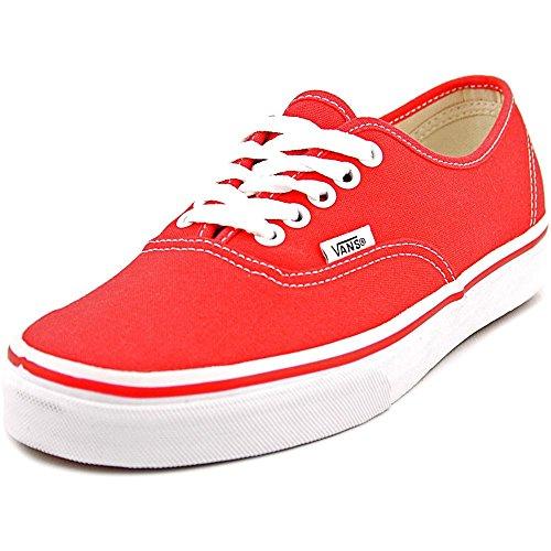 Vans Authentic Classic Red White Men Women Skateboarding Fashion Sneakers Vn-0ee3red Sz4~13 (Men – 10.5  Women – 12)