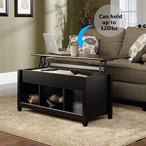 home, kitchen, furniture, living room furniture, tables,  coffee tables 10 image SSLine Lift Top Coffee Table with Hidden Compartment deals