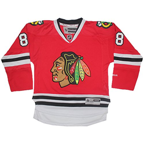 CHICAGO BLACKHAWKS KANE #88 - Boys Professional Hockey Sweater L/XL ()