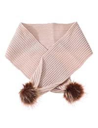 Chinatera Baby Kids Scarf Bib Snowy Days Cotton Knitted Scarf