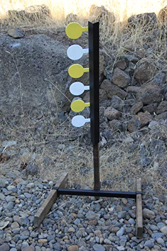 Deschutes Metal Works Rimfire Dueling Tree Six Paddle AR-500 Target Set