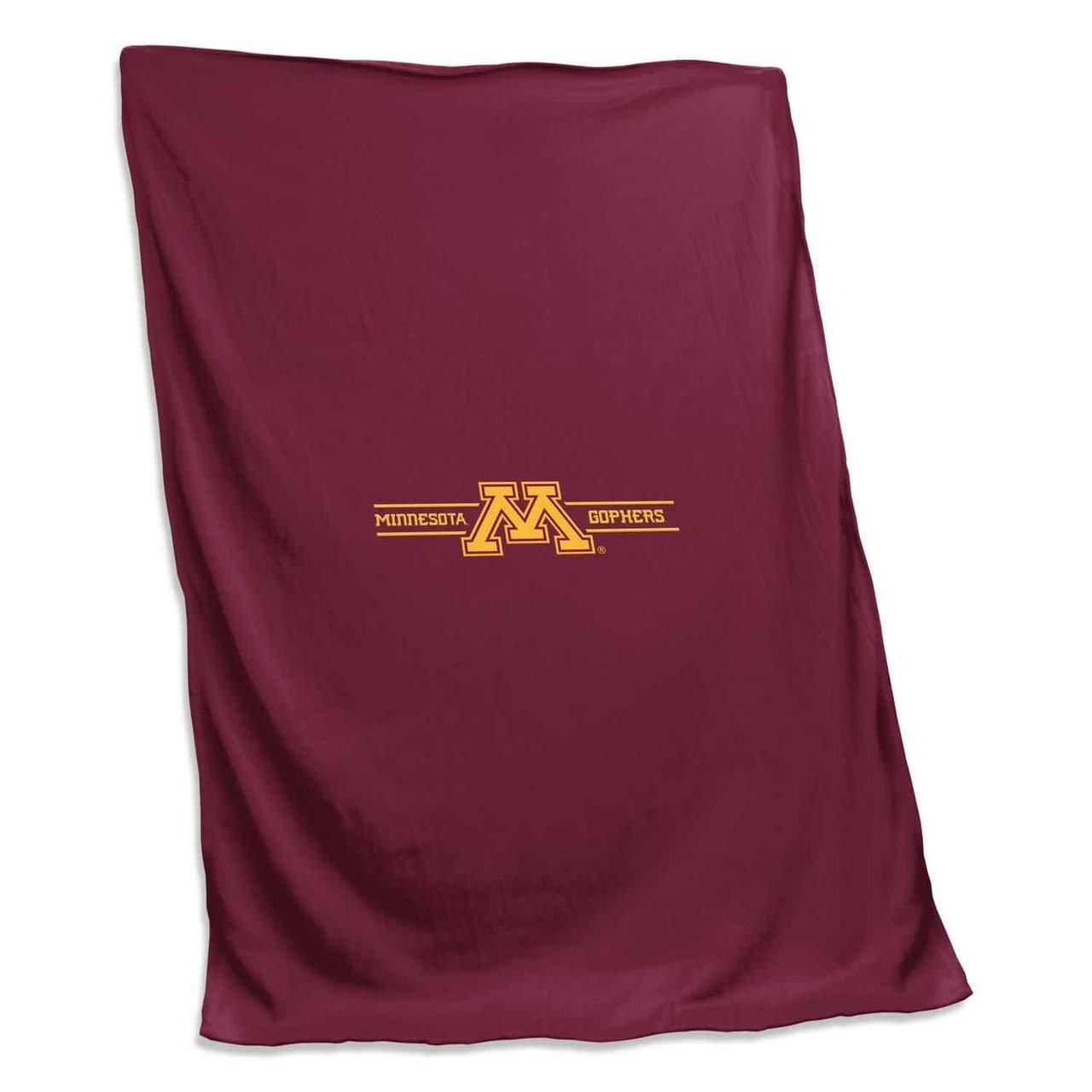 Logo Minnesota Golden Gophers NCAA 54 X 84 Fleece Sweatshirt Blanket - Team Color, by Logo