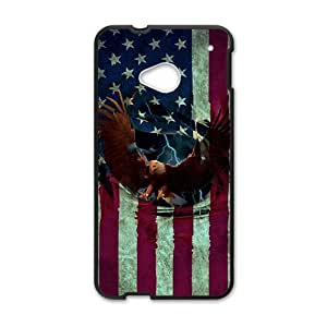 Happy Bald Eagle Cell Phone Cell Phone Case for HTC One M7