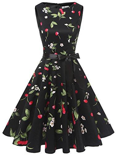 cherry retro dress - 4