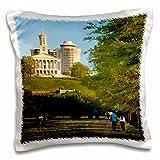 Danita Delimont - Parks - Bicentennial Park, Nashville, Tennessee, USA - US43 BJN0027 - Brian Jannsen - 16x16 inch Pillow Case (pc_146526_1)