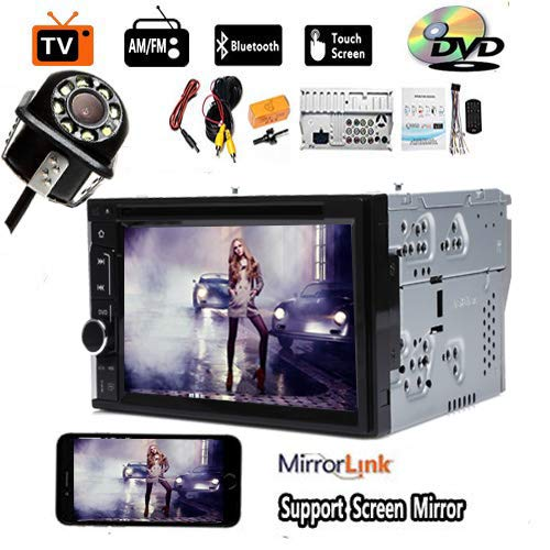 - for Hummer H1 H2 07 06 05 04 03 Car CD DVD Player Support Steering Wheel Control USB Screen Mirror Link Bluetooth Radio AM FM 2Din Car Stereo and Backup Camera