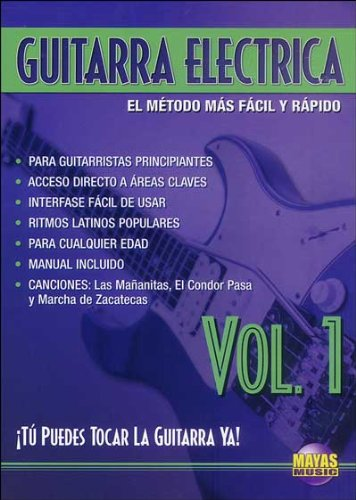 Amazon.com: Guitarra Eléctrica, Vol 1: ¡tú Puedes Tocar La Guitarra YA! (Spanish Language Edition), DVD: Rogelio Maya: Movies & TV