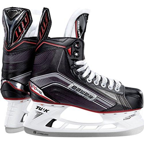 Sr In Line Hockey Skates (Bauer X600 Dynamic Speed Hockey Skates Unisex Style: 1045929-BLK D Size: 8.5)