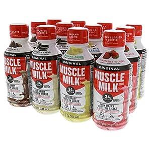 CytoSport Muscle Milk RTD Variety 12 17 fl. oz. Bottles