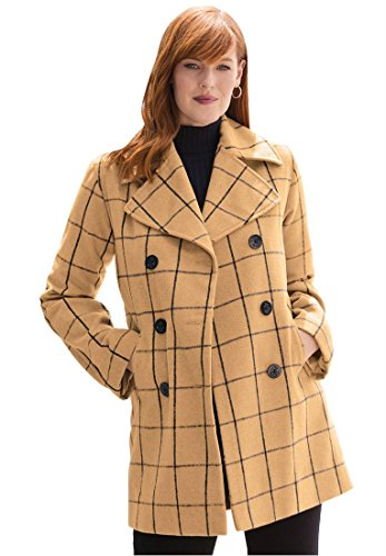 Jessica Double Breasted Peacoat - 9