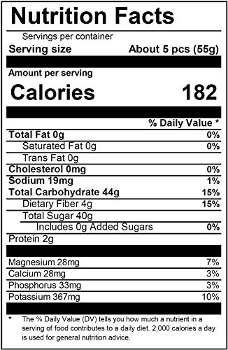 Image result for nutrition facts about ajwa dates