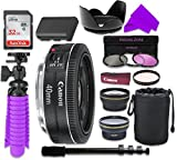 12 PC Accessory Kit with Canon EF 40mm f/2.8 STM Lens