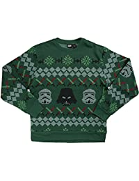 Star Wars Imperial Holiday Ugly Christmas Sweater, Large