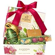 Godiva Chocolatier Easter Cheer Basket with Godiva Gourmet Chocolate Gifts