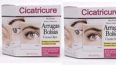 Cicatricure (Crema De Ojos) Eye Cream for Dark Circles, Wrinkles & Bags, Anti Aging Eyes Day and Night Cream