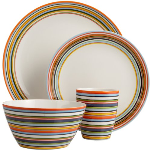 Amazon.com | Iittala Origo Orange 16-Piece Place Setting Dinnerware Sets Dinnerware Sets  sc 1 st  Amazon.com & Amazon.com | Iittala Origo Orange 16-Piece Place Setting: Dinnerware ...