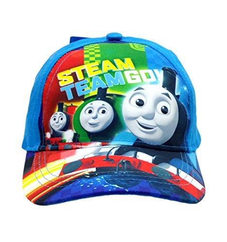 Granny's (C)THOMAS & FRIENDS THOMAS THE TANK ENGINE STREAM TEAM GO HAT BASEBALL CAP KID SIZE-NEW! (Thomas The Tank Engine Costume)