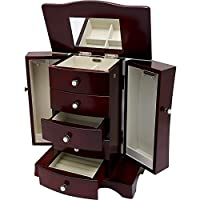 Mele Jewel Cases Bette Wooden Jewelry Box