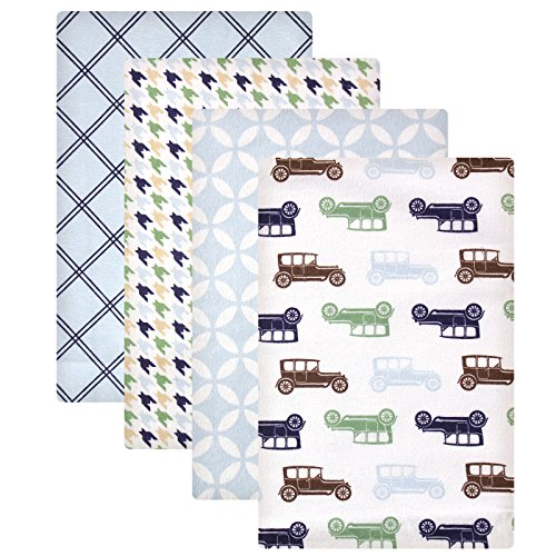 Hudson Baby Flannel Receiving Blankets product image