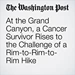 At the Grand Canyon, a Cancer Survivor Rises to the Challenge of a Rim-to-Rim-to-Rim Hike | Dina Mishev
