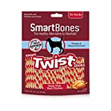 Smartbones Smart Twist Sticks Chews For Dogs, Rawh...