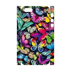 DIY High Quality Case for Iphone 5,5S 3D, Butterfly Phone Case - HL-R666484