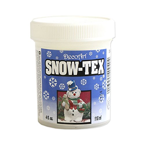 DecoArt DAS9-4 Snow-Tex, 4-Ounce