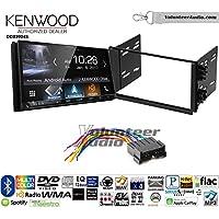 Volunteer Audio Kenwood DDX9904S Double Din Radio Install Kit with Apple CarPlay Android Auto Bluetooth Fits 2001-2005 Kia Optima, 2003-2005 Rio