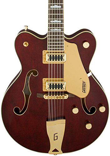 Gretsch Guitars G5422G-12 Electromatic Hollowbody 12-String Electric Guitar Walnut Stain
