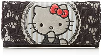 Hello Kitty Red Bow Lace Wallet,Multi,One Size