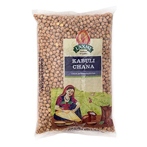 Laxmi Kabuli Chana White Chickpeas - Whole Chana, 8 Pound Bag by Laxmi