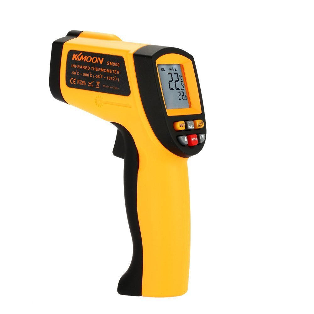 KKmoon Non-Contact Laser IR Thermometer -50-900℃ w/ Alarm MAX/MIN/AVG/DIF dodocool B00E1ASMT6