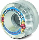 Sure-Grip Outdoor Kryptonics Wheels Route 65mm - clear