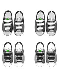 "Dark Green 44/"" L x 7//16/"" W Flat Shoe Laces Polyester"