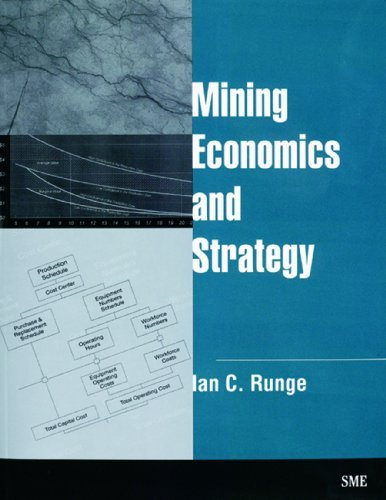 Mining Economics and Strategy by Ian C. Runge (1998-01-01)