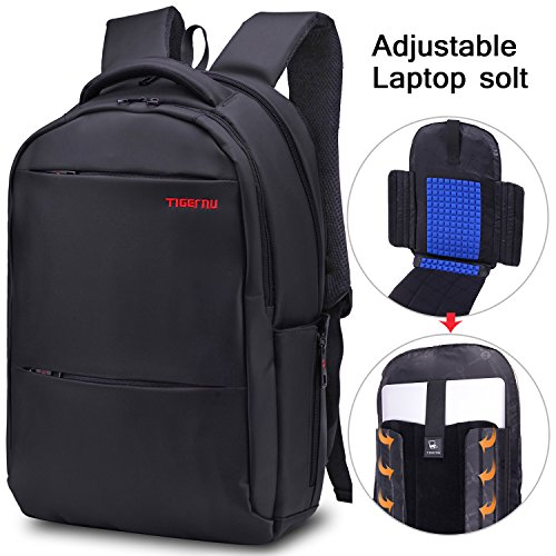 lapacker-156-17-inch-water-resistant-lightweight-slim-backpack-laptop-in-black-bags-bussiness-notebo