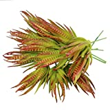 Greatflower Pack of 15 Artificial Succulents Plants Wall DIY Materials