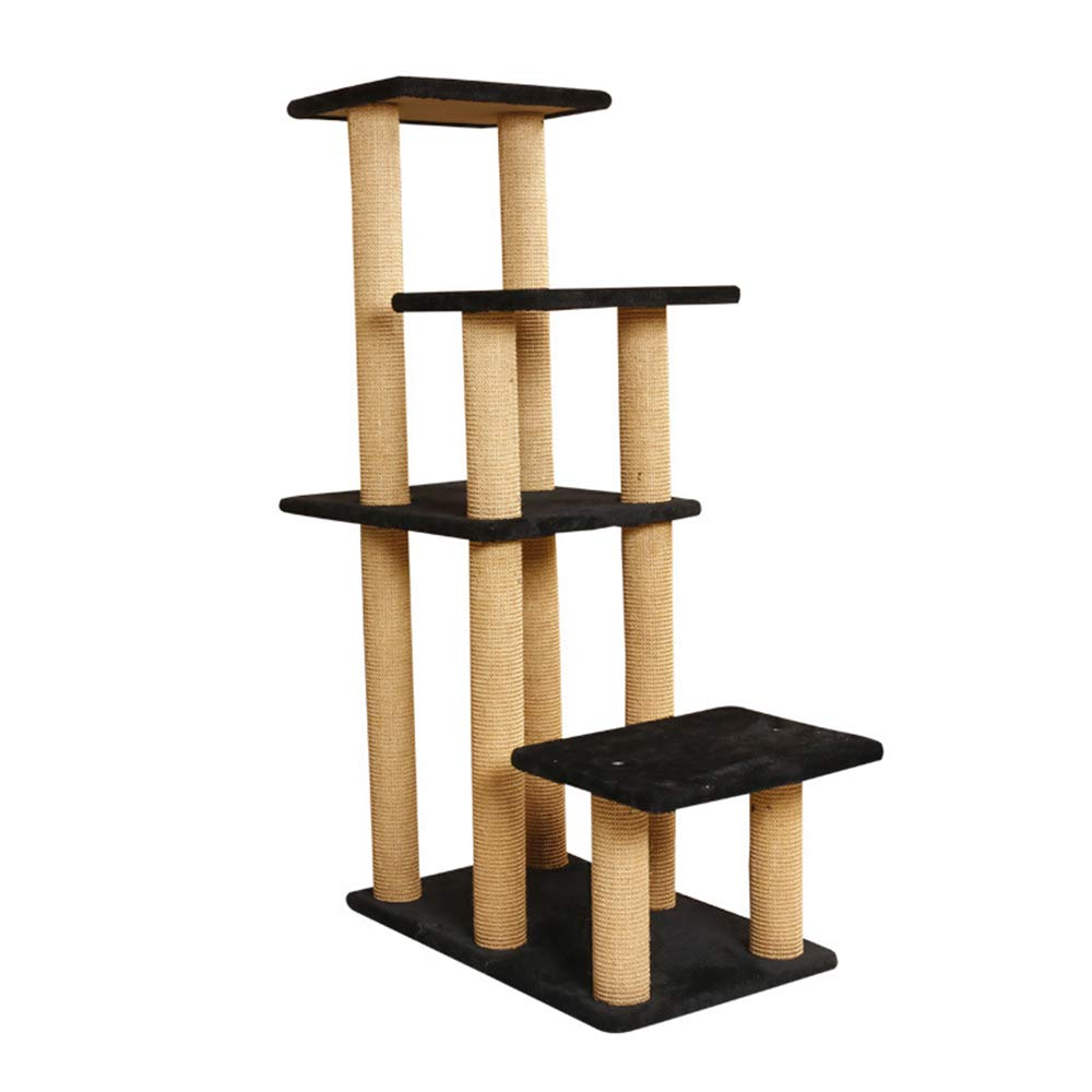 HU Cat Tree Cat Tree Plush Multi-Layer Luxury Cat Climbing Frame Interessante Resistente all'Usura Resistente All'artiglio