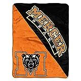 "Mercer Bears ""Halftone"" Micro Raschel Throw"