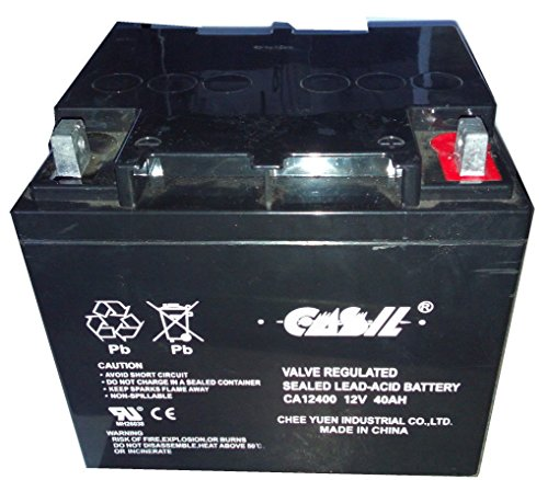 Casil CA12240 12v 40ah for Wheelchair Battery Replaces 44...