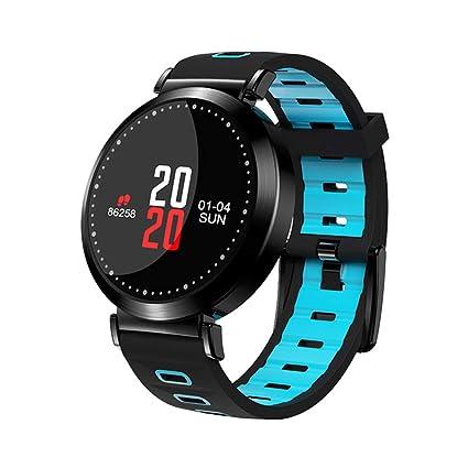 Reloj Inteligente Impermeable, Pantalla De Color Tensiómetro Monitor De Ritmo Cardíaco Actividad Seguimiento Smart Band