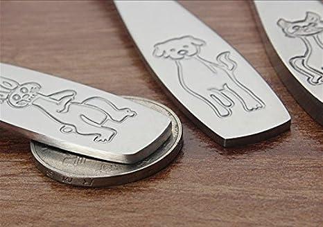 Amazon.com: Sunwinc - Juego de 2 utensilios de plata para ...