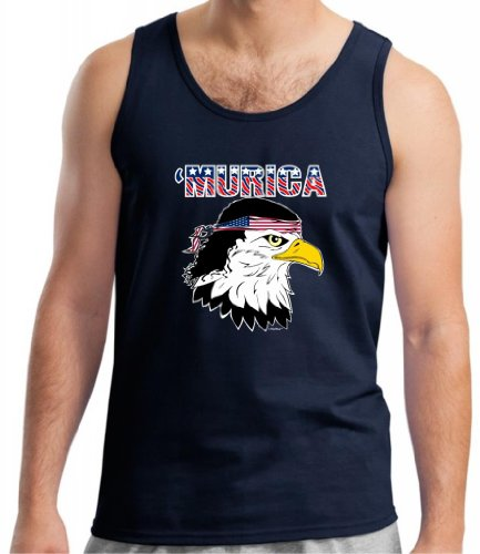 Murica Bald Eagle Mullet Top