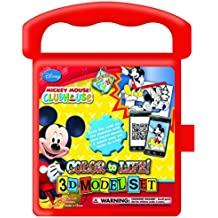 National Design Disney Mickey Mouse Clubhouse Destination Fun Color to Life 3D Model Set