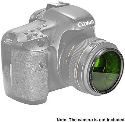Neewer 67mm Filtro de Lente Verde para Canon Rebel (T5i, T4i, T3i ...
