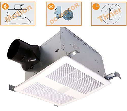 KAZE Ventilation Fans APPLIANCE SED110M Selectable 80-140 ...