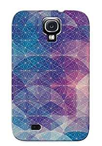 New Arrival Abstract Artistic JicEsm-4185-DujAF Case Cover/ S4 Galaxy Case