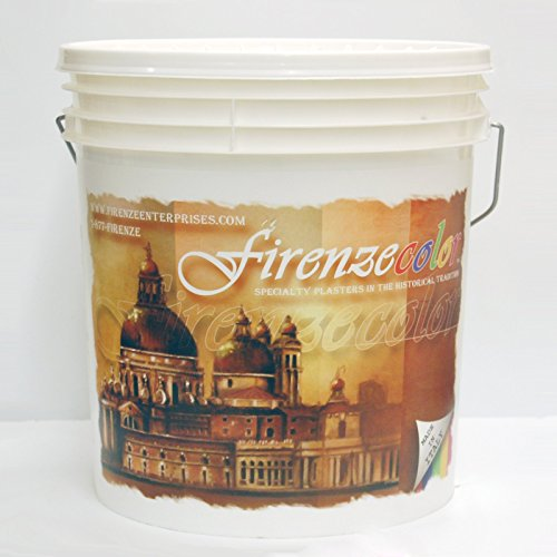 Firenzecolor Fine Marmorino Lime Venetian Plaster (Grassello Fino) Gallon 5 kg White Untinted