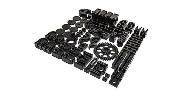 SET BLACK PLASTIC PARTS FOR K8200: Amazon.es: Electrónica
